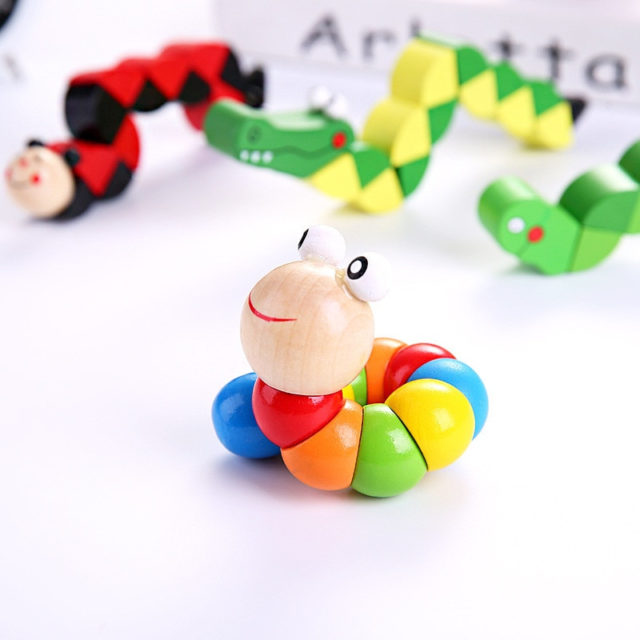 Wooden Developmental Toy (Number Counting and Colours)